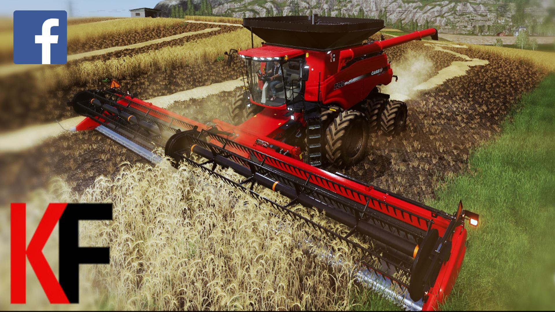 Case IH Axial-Flow 240 Series v2 0 FS19 - Farming Simulator