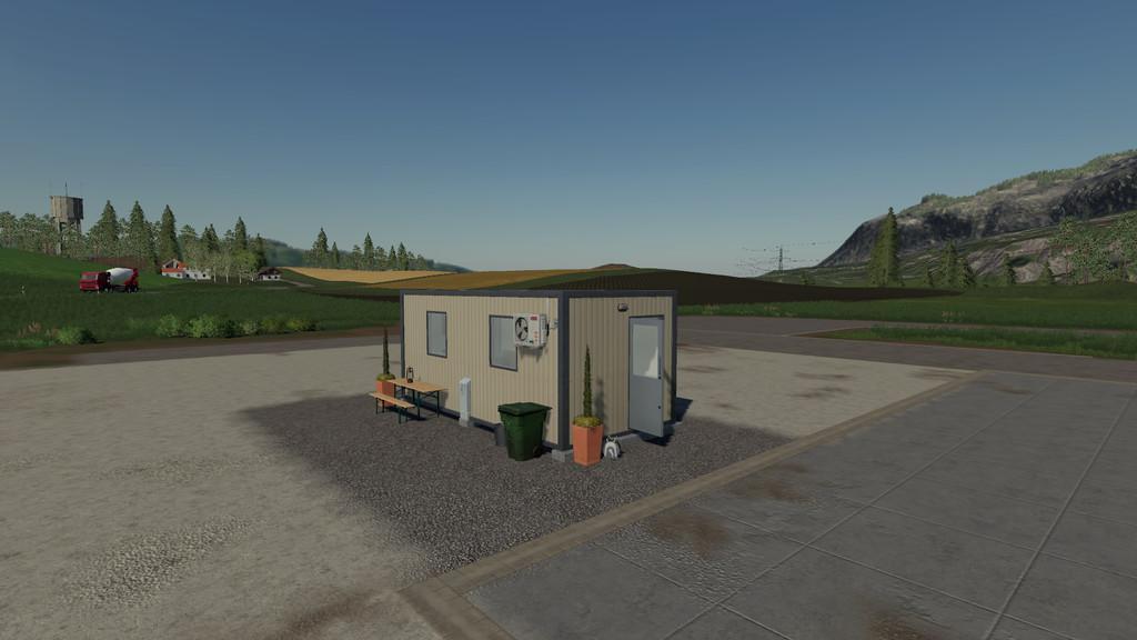 Container House v1 0 0 0 FS19 - Farming Simulator 19 Mod