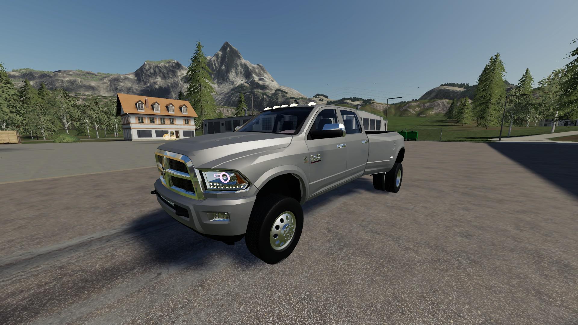 Dodge Ram 3500 V3 0 Fs19 Farming Simulator 19 Mod Fs19 Mod