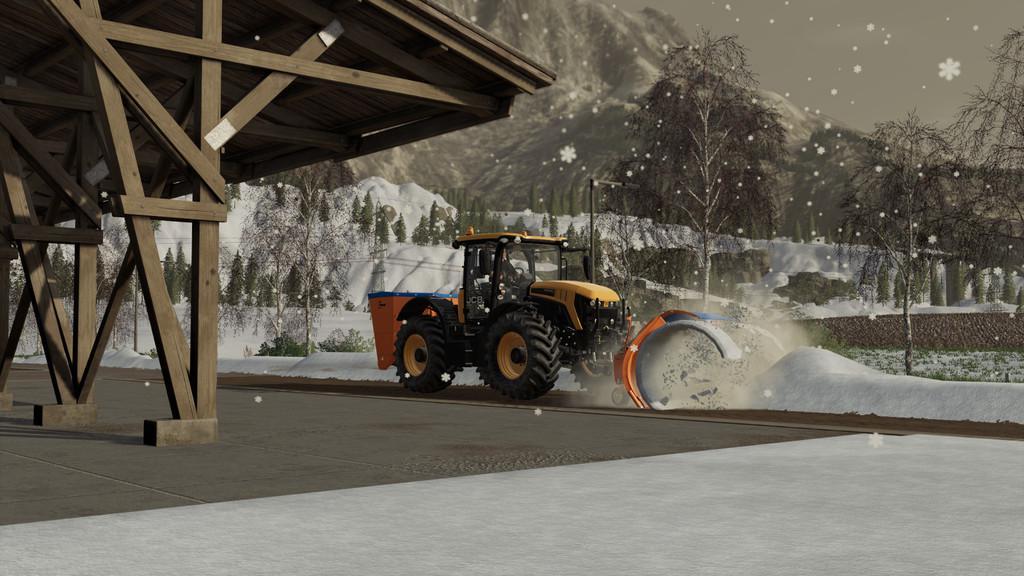 Hauer Snow Pack v1 0 0 0 FS19 - Farming Simulator 19 Mod