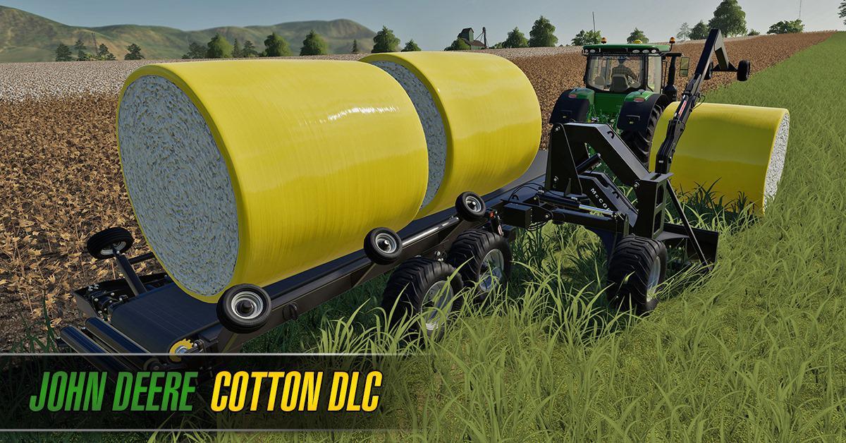 John Deere Cotton DLC (Download Only) v1 0 0 0 FS19