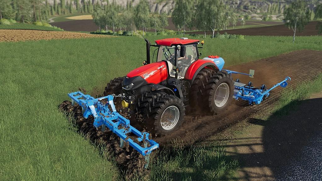 LIZARD Subsoiler 6M v1 0 0 0 FS19 - Farming Simulator 19 Mod