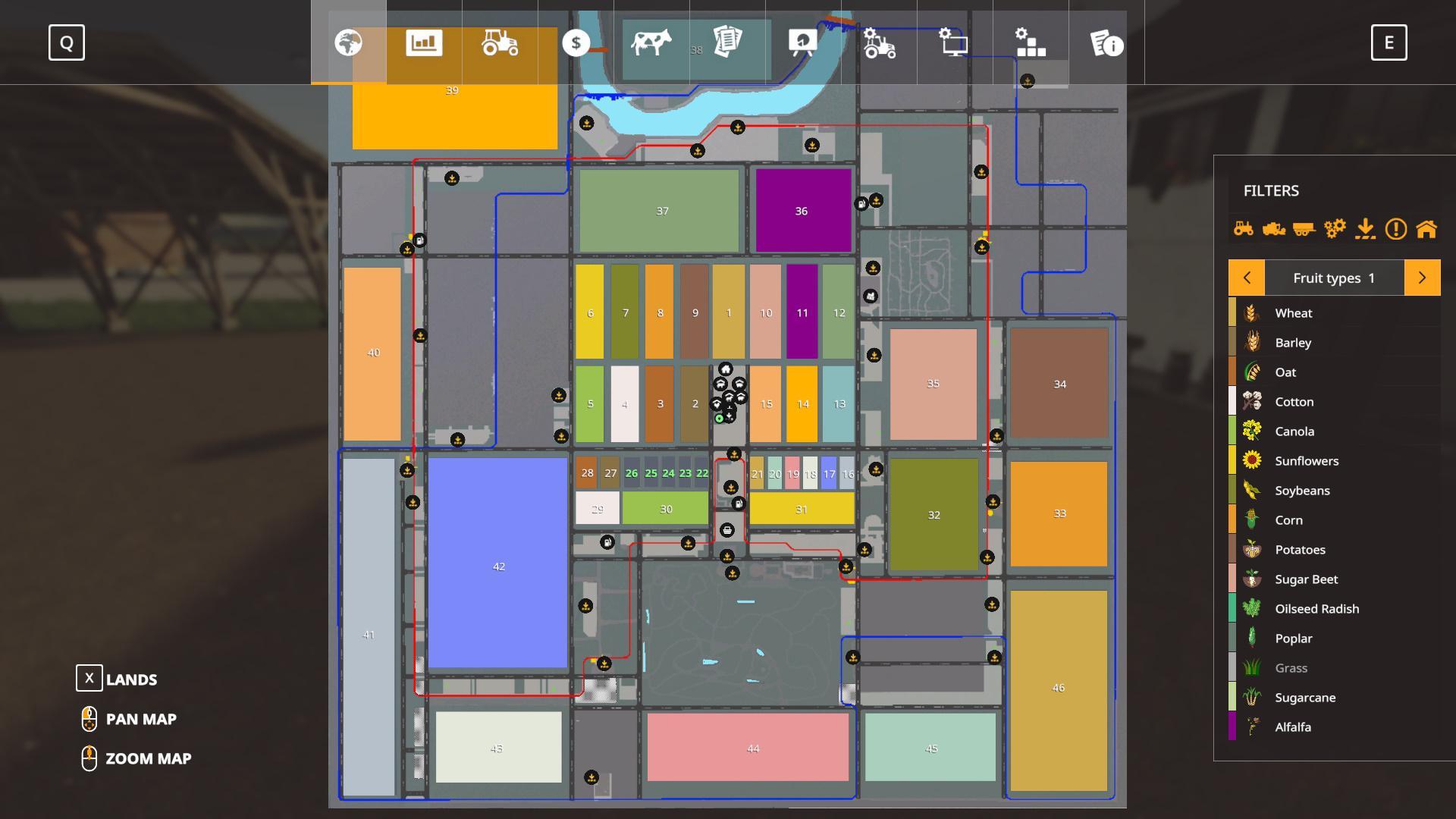 Fs 19 16x Map Canada Canadian Production Map. 8x Season v2.0 FS19   Farming Simulator