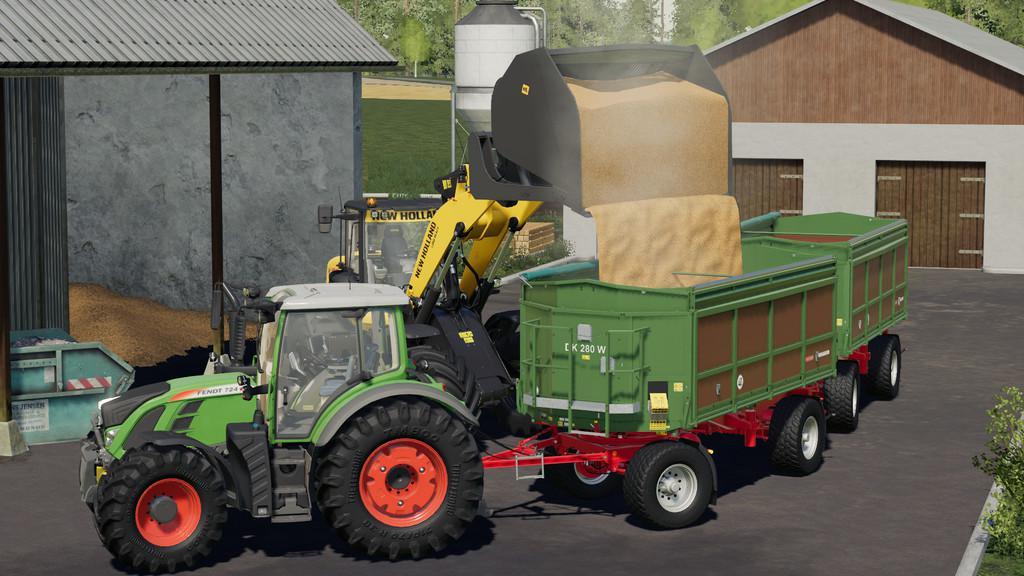 High-Dump Bucket v1 0 0 0 FS19 - Farming Simulator 19 Mod | FS19 mod