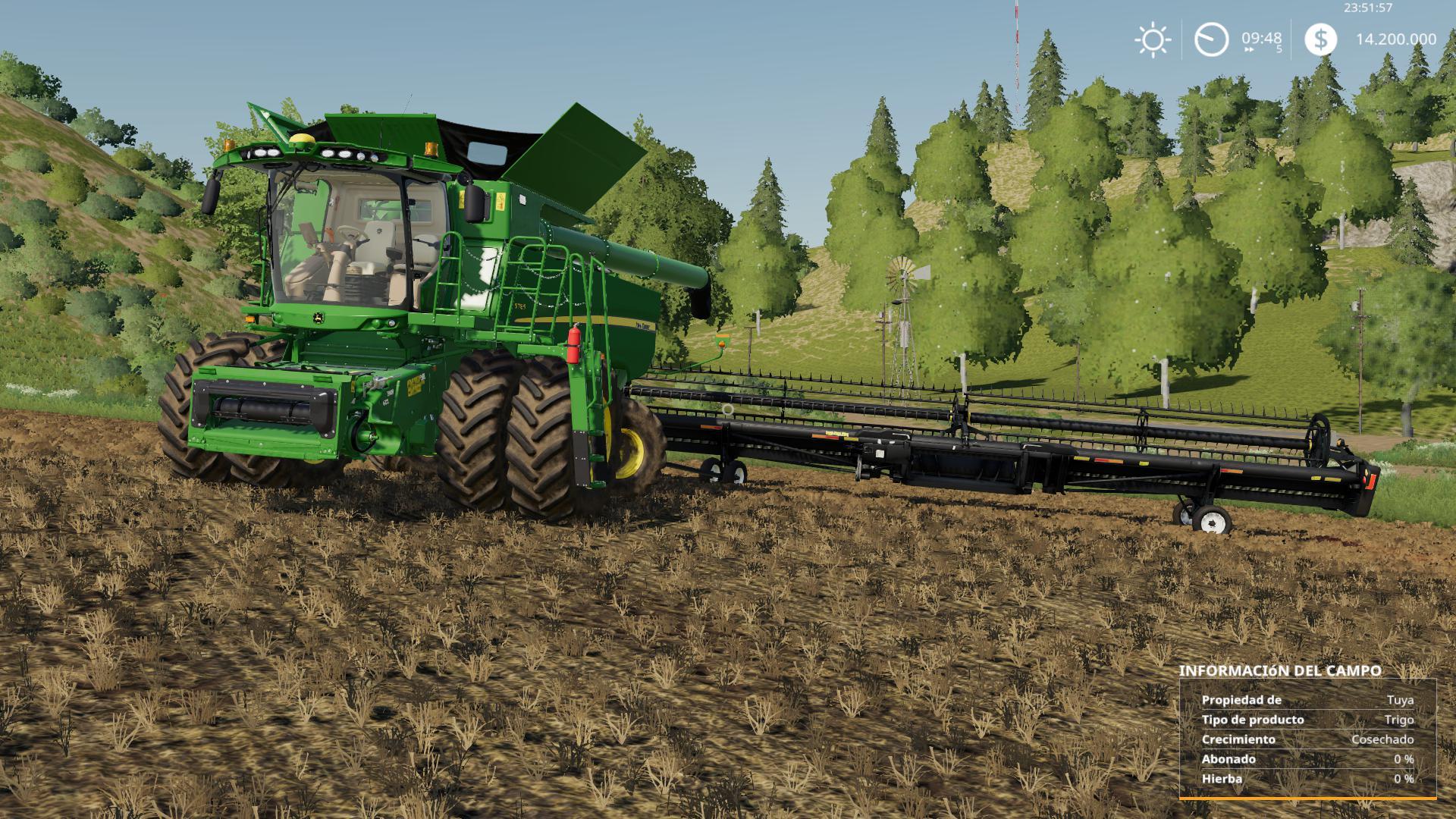 MacDon FD75 beta FS19 - Farming Simulator 19 Mod | FS19 mod