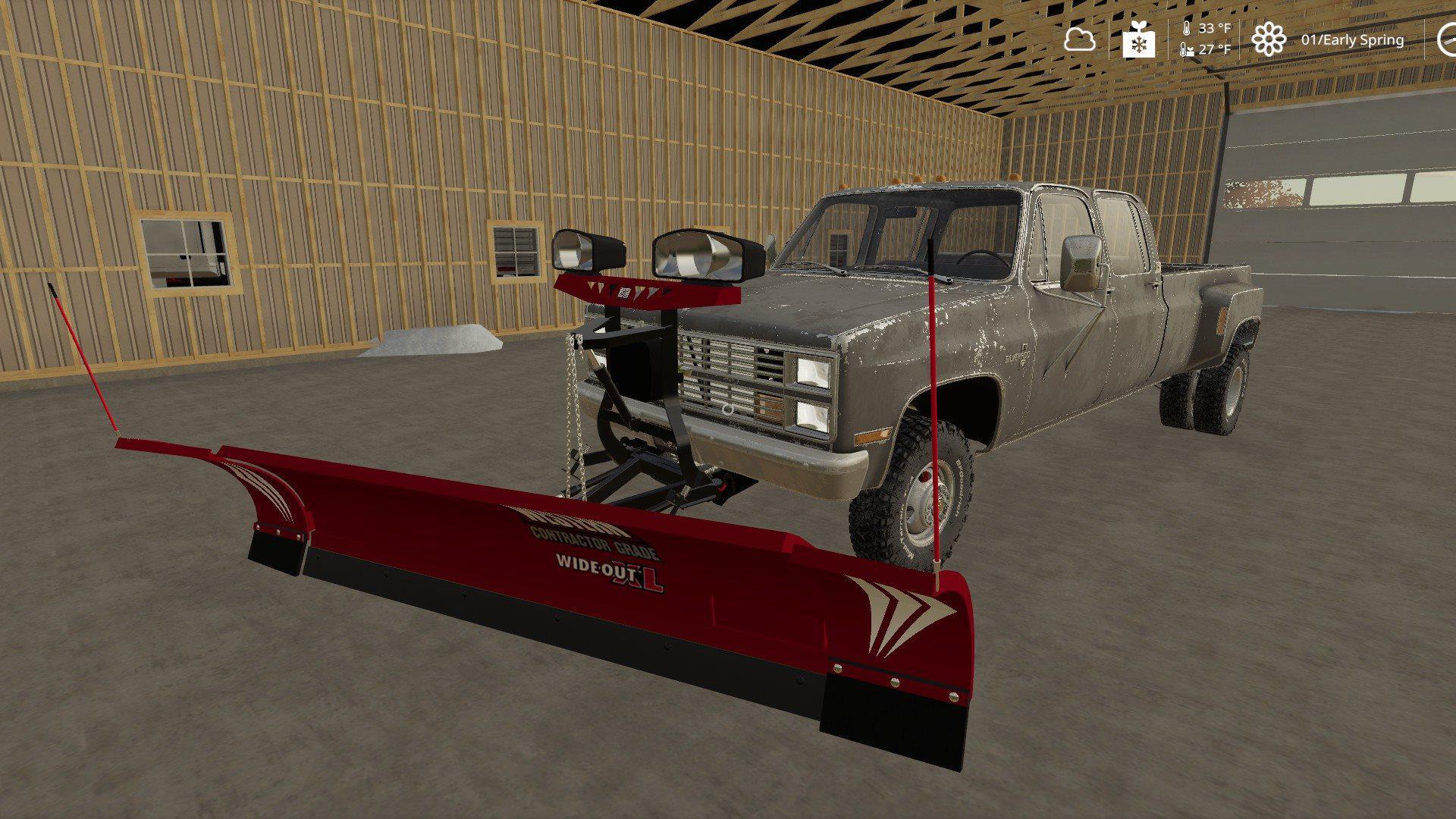 Plow Mount for trucks (with tutorial) v1 0 FS19 - Farming