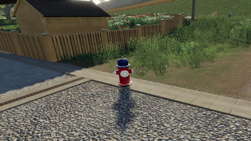 American Fire Hydrant v1 0 0 0 FS19 - Farming Simulator 19