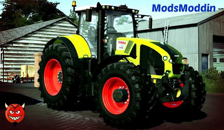 CLAAS AXION 900 v2 0 0 0 FS19 - Farming Simulator 19 Mod