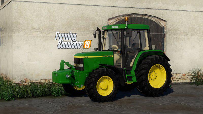 John Deere 6110 Series v1 0 0 0 FS19 - Farming Simulator 19
