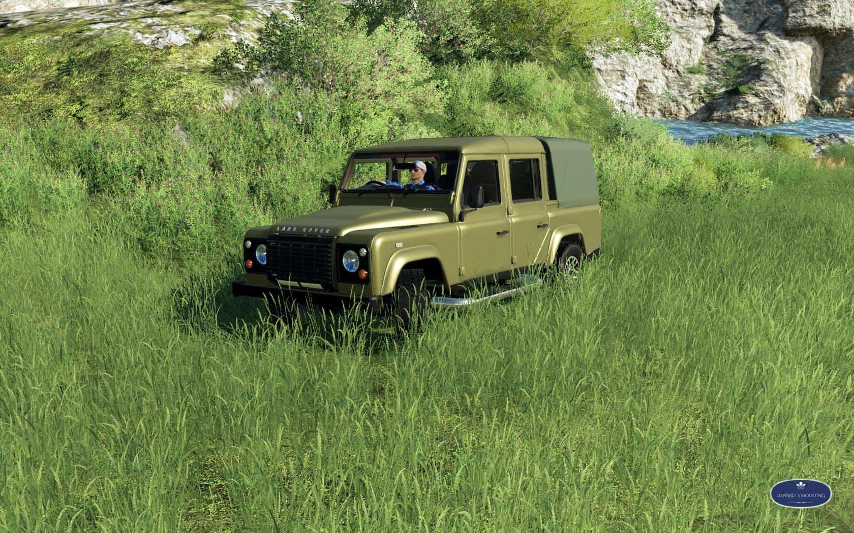 Land Rover Defender 110 v1 0 FS19 - Farming Simulator 19 Mod