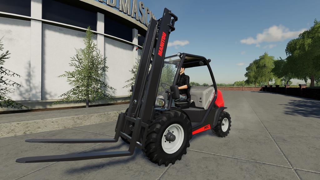 Manitou MC v1 0 0 0 FS19 - Farming Simulator 19 Mod | FS19 mod