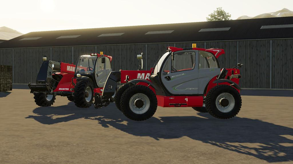 Manitou MLT 840 v1 0 0 0 FS19 - Farming Simulator 19 Mod
