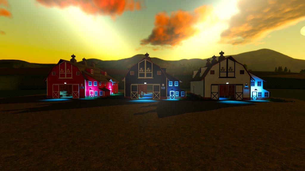 Placeable Straw Barn v1 2 0 0 FS19 - Farming Simulator 19
