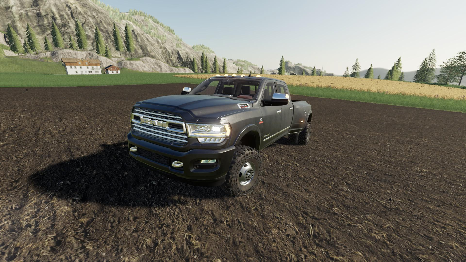 2019 Ram 3500 V1 0 0 0 Fs19 Farming Simulator 19 Mod Fs19 Mod