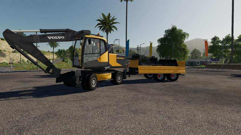 Pack Excavator Volvo V1 4 0 0 Fs19 Farming Simulator 19