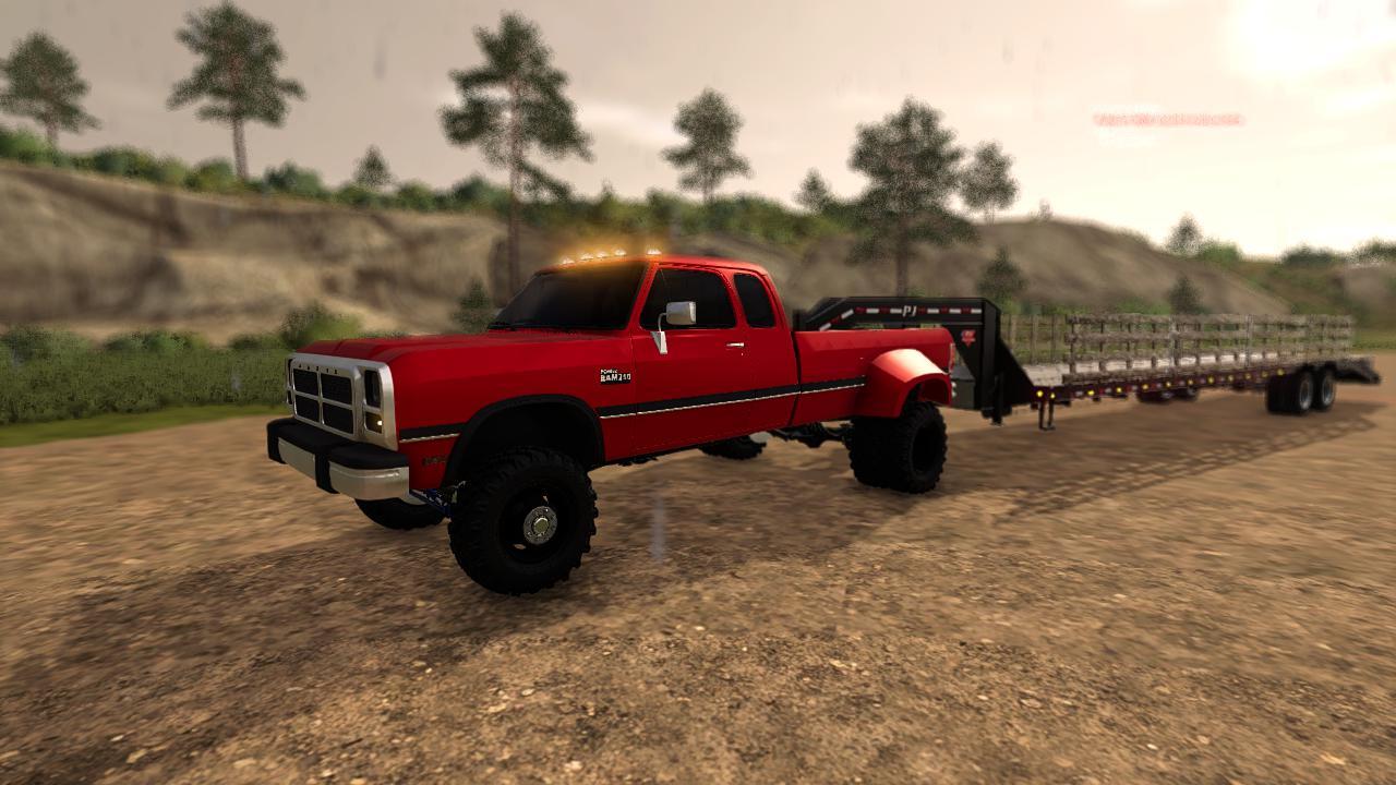 1992 Dodge 1st Gen Cummins V1 0 0 0 Fs19 Farming Simulator 19 Mod Fs19 Mod