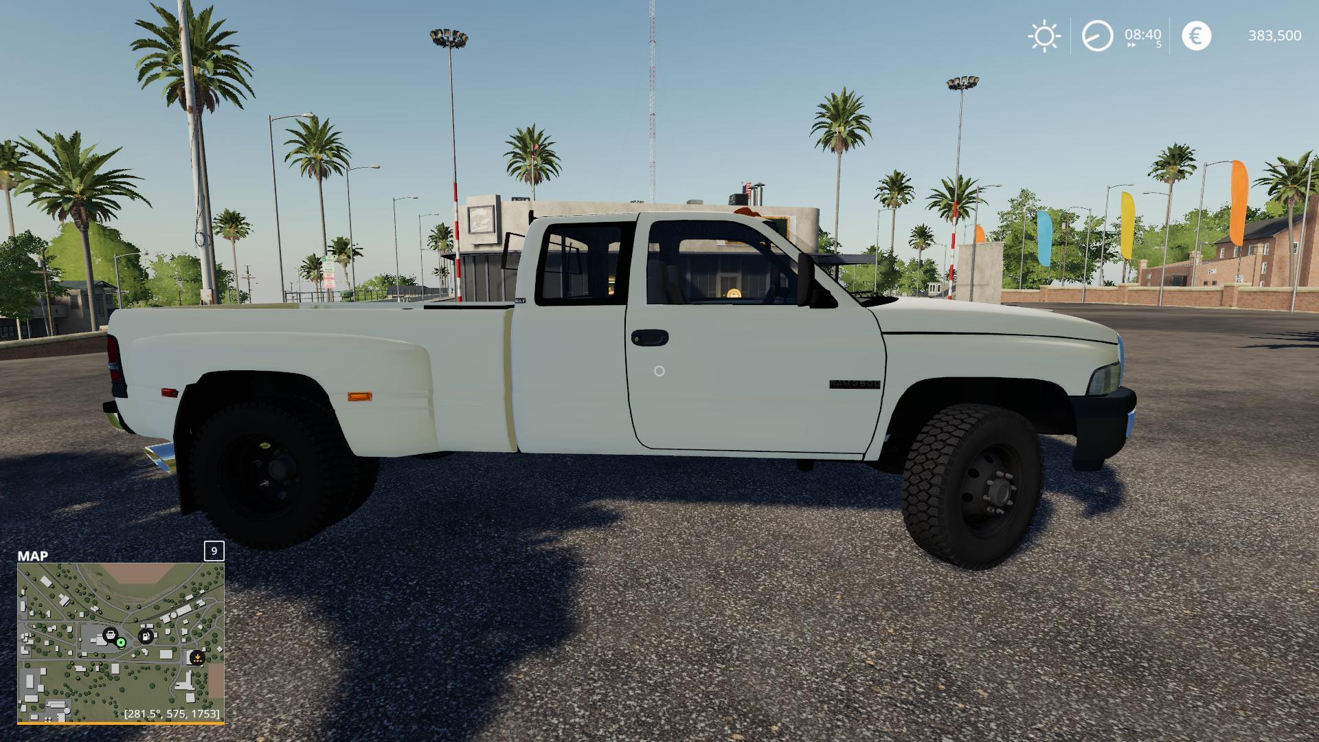 2nd Gen Dodge Ram 3500 V2 0 Fs19 Farming Simulator 19 Mod Fs19 Mod