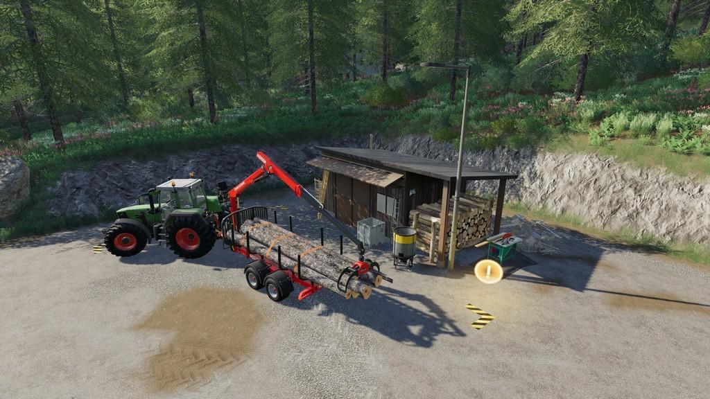 Small Wood Selling Station v1.1.0.0 FS19 Farming Simulator
