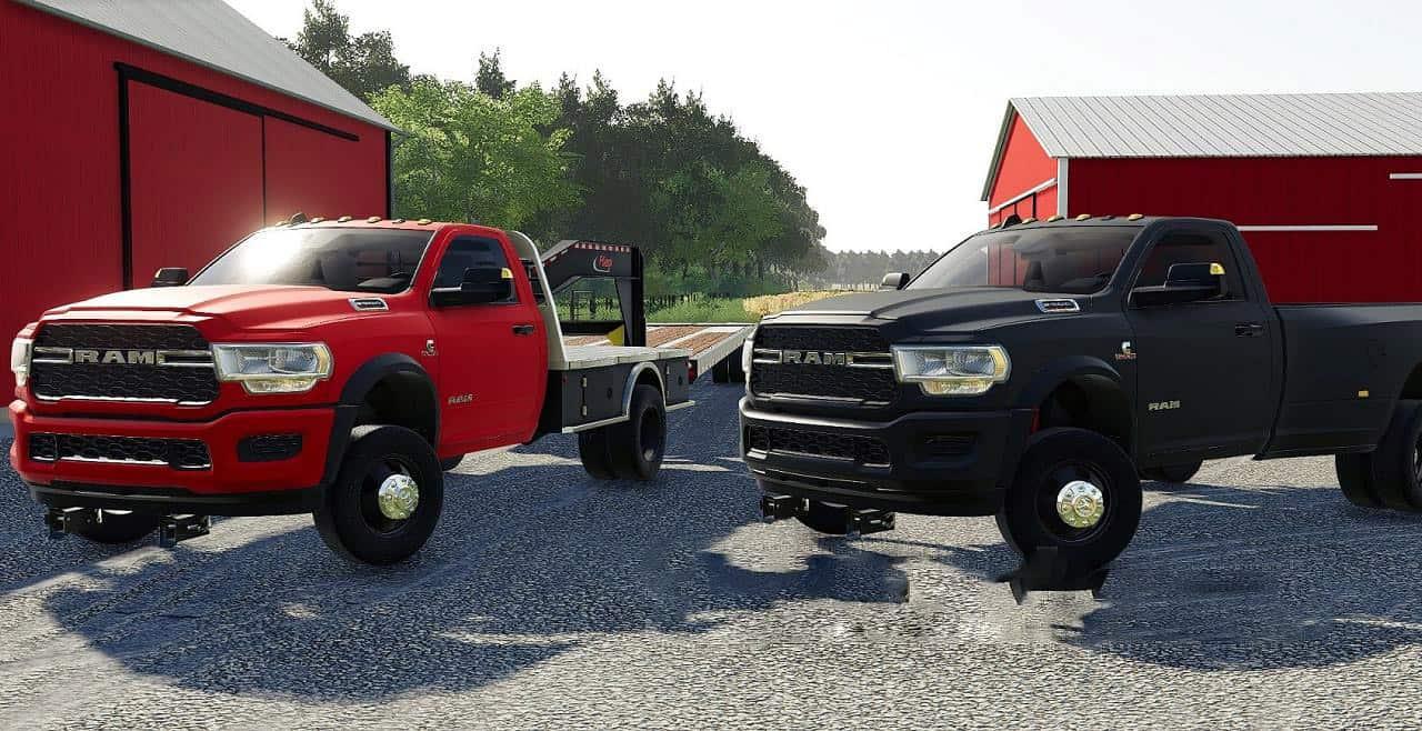 Dodge Ram 3500 2019 V1 0 Fs19 Farming Simulator 19 Mod Fs19 Mod