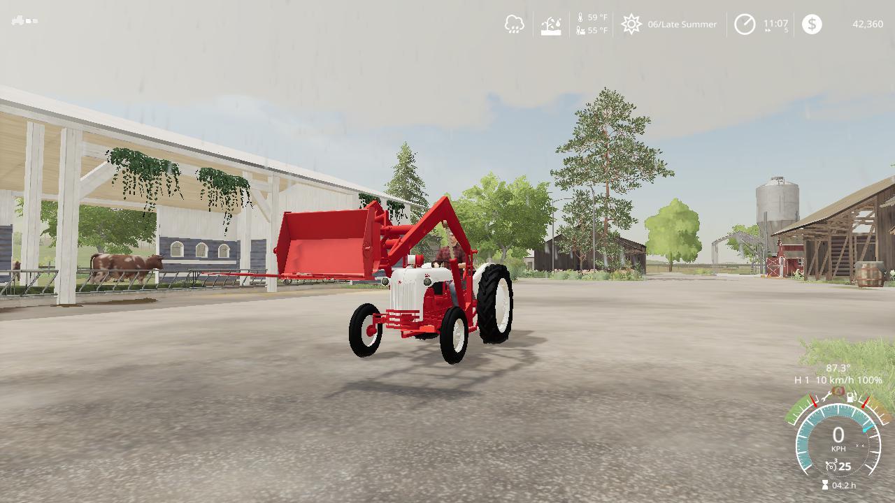 Ford 8n V3 0 Fs19 Farming Simulator 19 Mod Fs19 Mod
