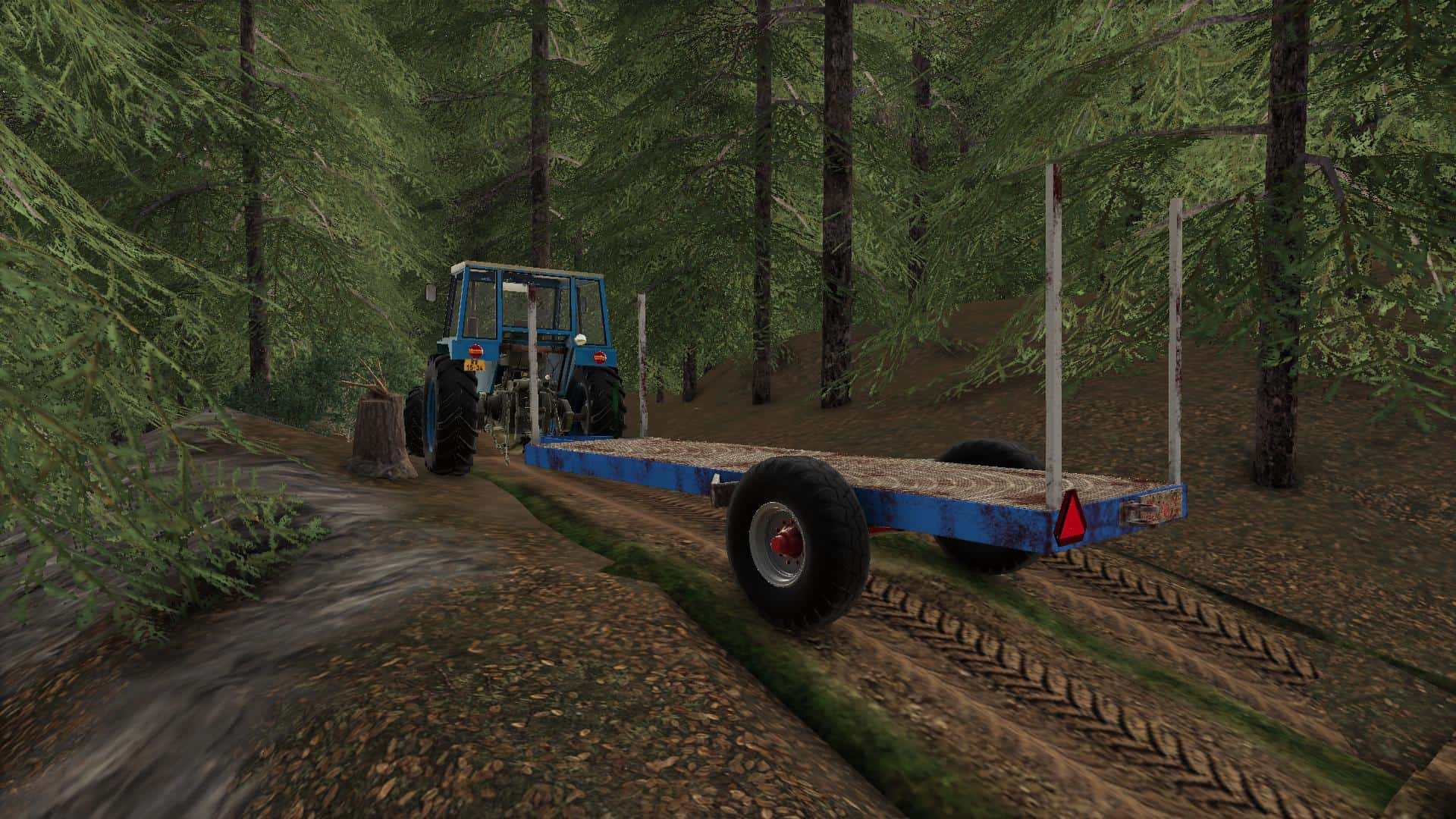 Remorque A Bois Fait Maison V1 0 Fs19 Farming Simulator 19 Mod Fs19 Mod